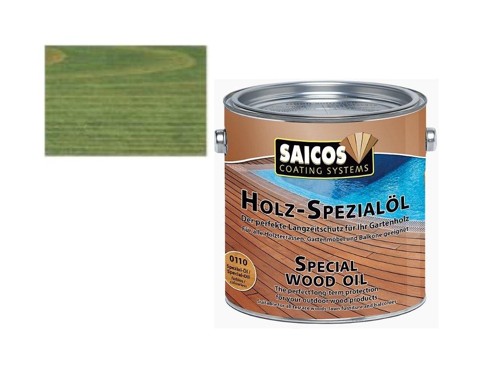 Saicos - speciální olej ZELENÝ KDI 2,5L - 0116