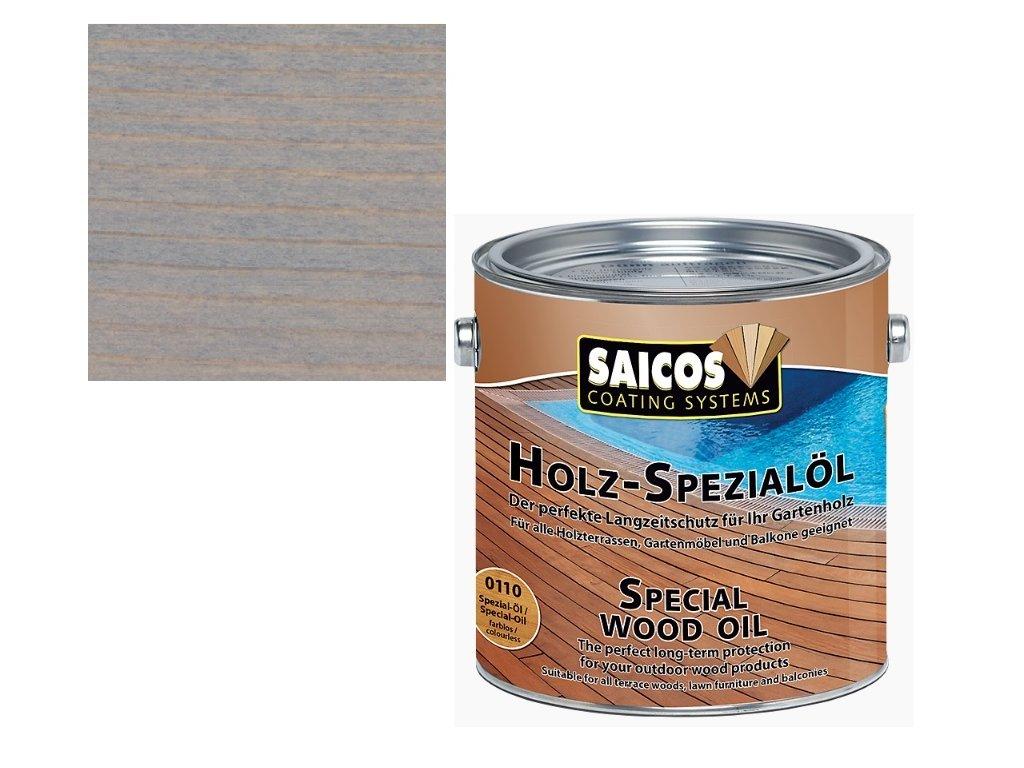 Saicos - speciální olej ŠEDÝ 2,5 L - 0123