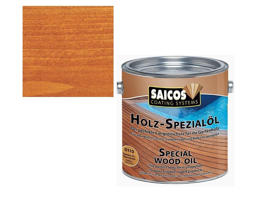 Saicos - speciální olej MODŘÍN 2,5 L - 0112