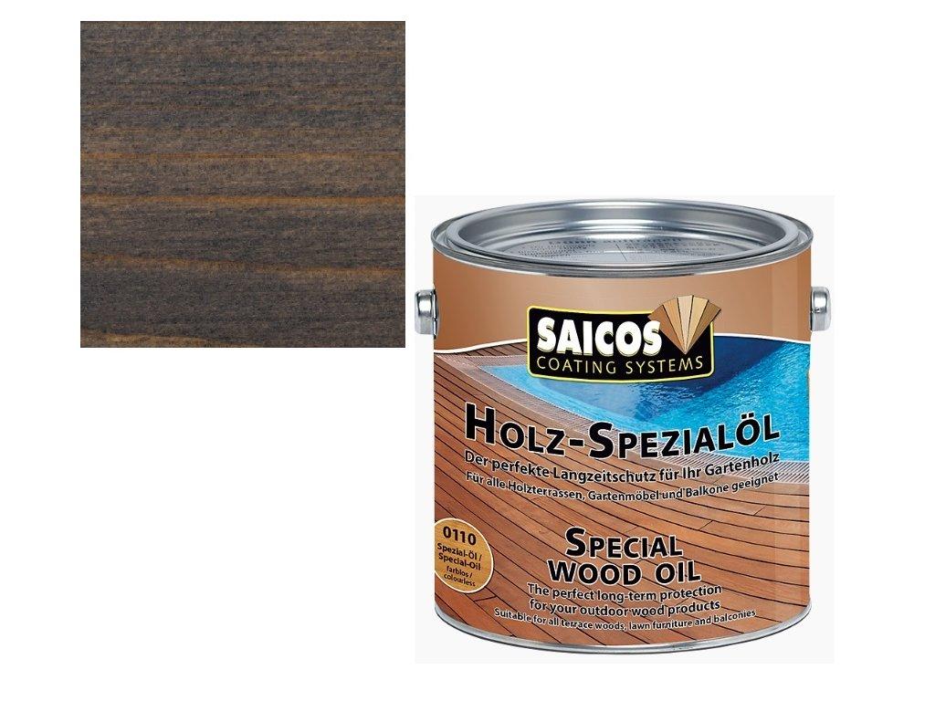 Saicos - speciální olej ČERNÝ 2,5 L - 0180