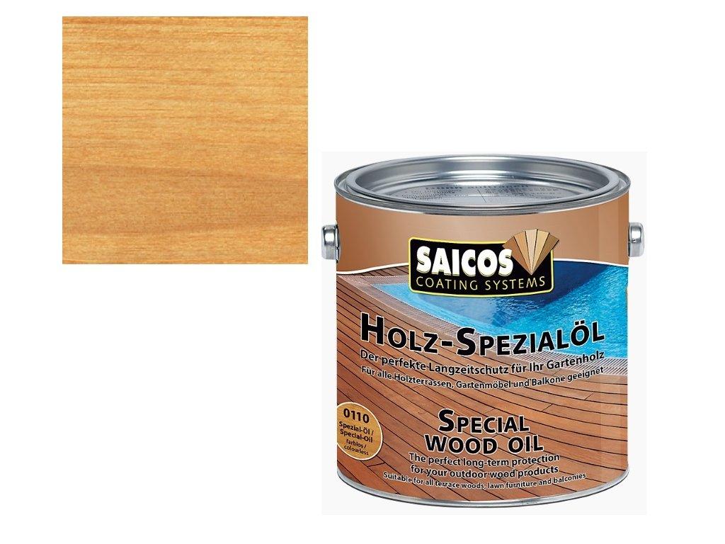 Saicos - speciální olej BEZBARVÝ 2,5 L - 0110