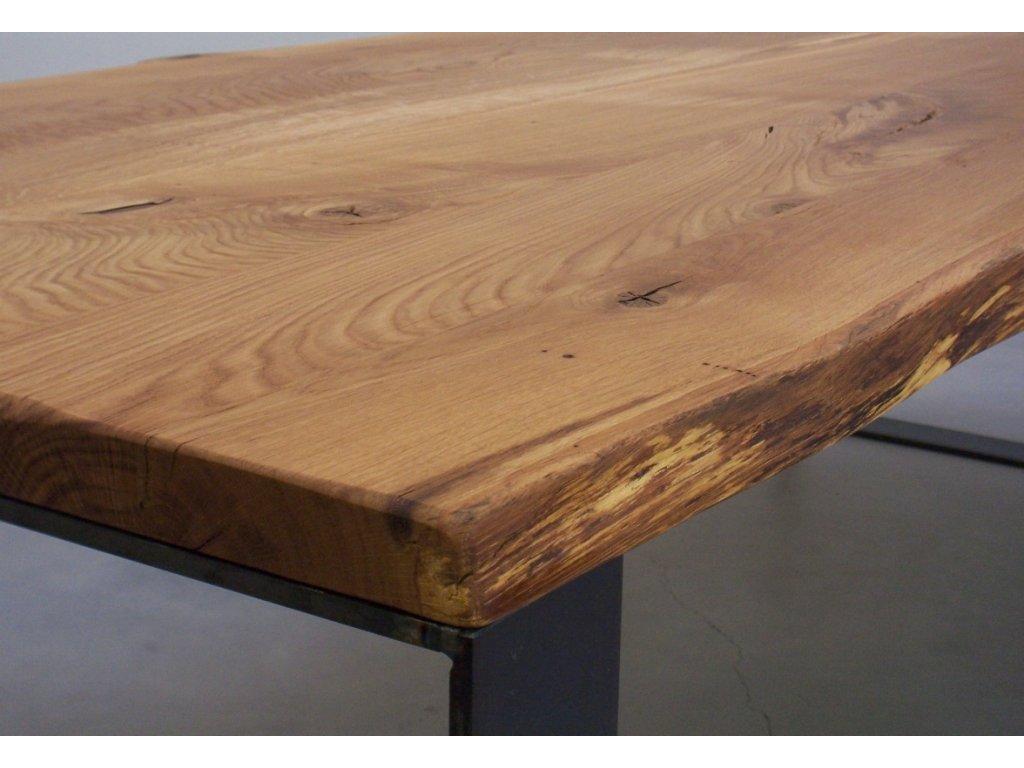 Stůl z masivu - 4,5 cm (délka 180 cm, šířka 120 cm, výška 80 cm)
