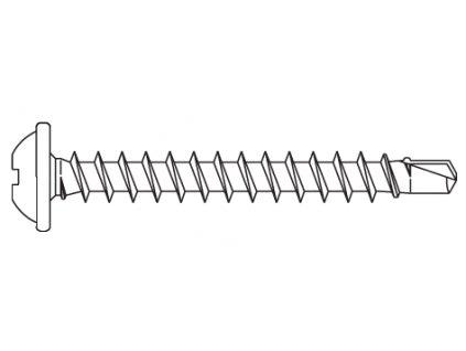 Nerezový šroub 35 mm