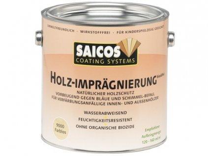 Saicos Impregnace dřeva bez biocidů 0,75 L