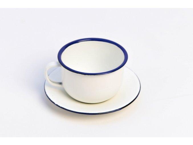 šálek smalt bílý
