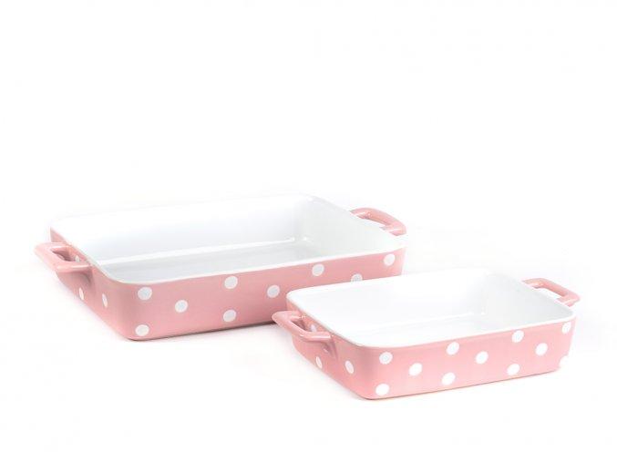 Keramický pekáč růžový