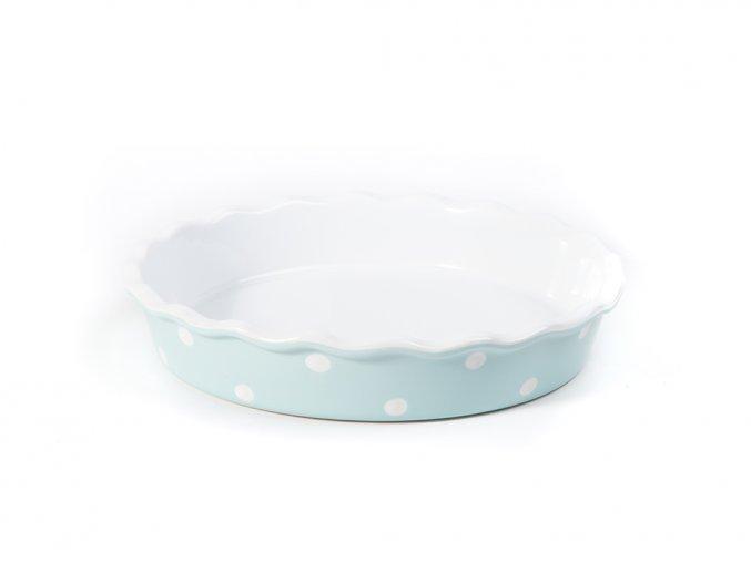 forma na koláč modrá