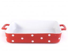 Keramický pekáč 31 cm červený