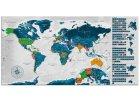 Stírací mapy světa