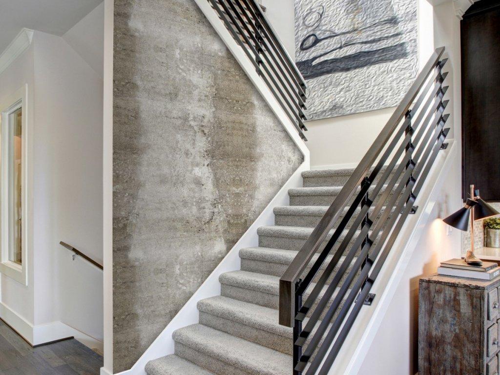 Betonová cesta (Klasické tapety 49x1000 cm - samolepicí)