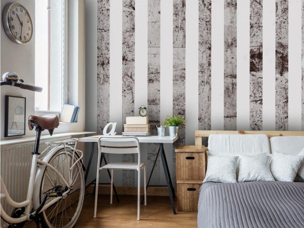 Betonová móda (Klasické tapety 49x1000 cm - samolepicí)
