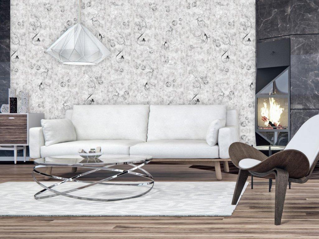 Betonové poklady (Klasické tapety 49x1000 cm - samolepicí)