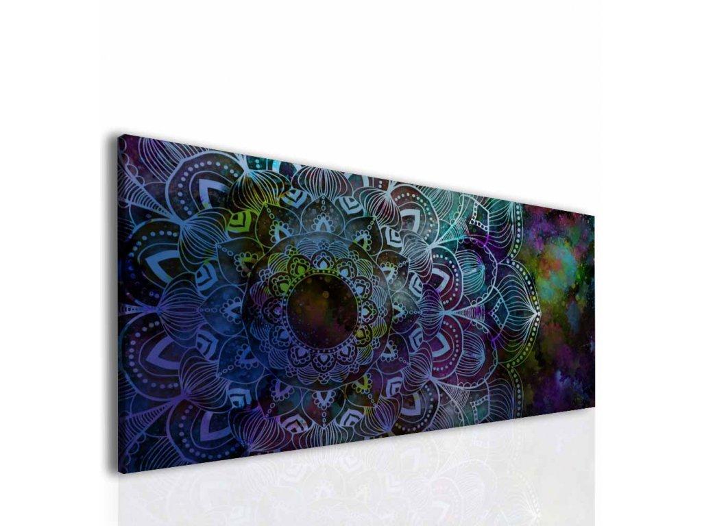 Čarokrásná mandala (Velikost 150x70 cm)