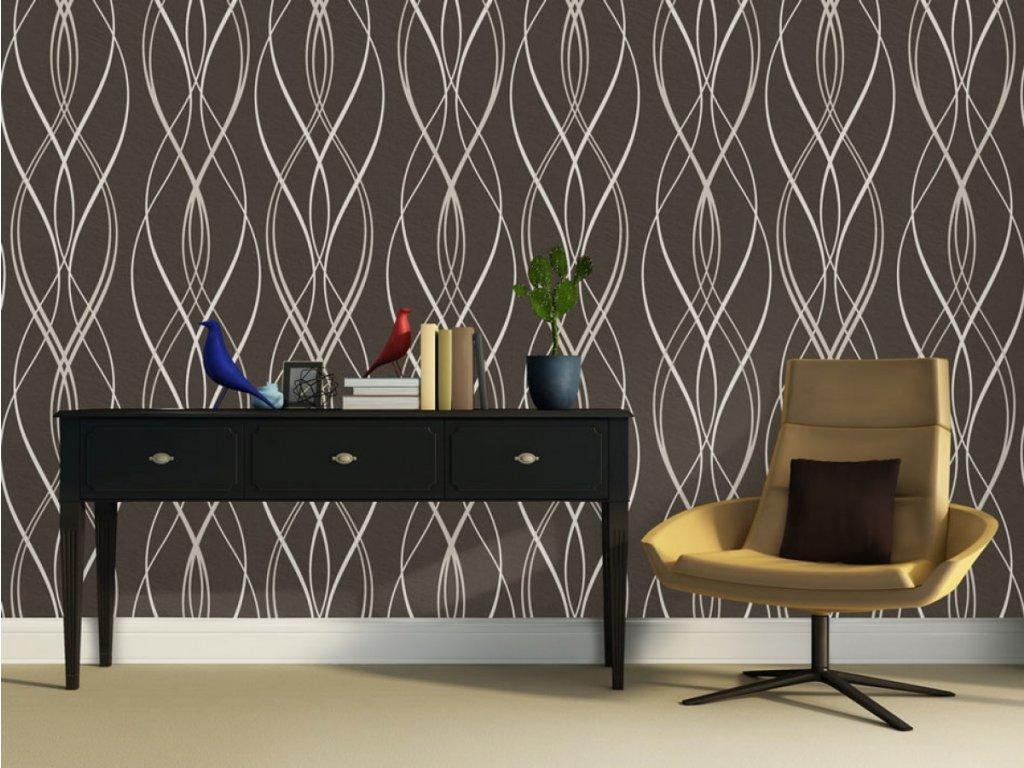 Čokoládová relaxace (Klasické tapety 49x1000 cm - samolepicí)