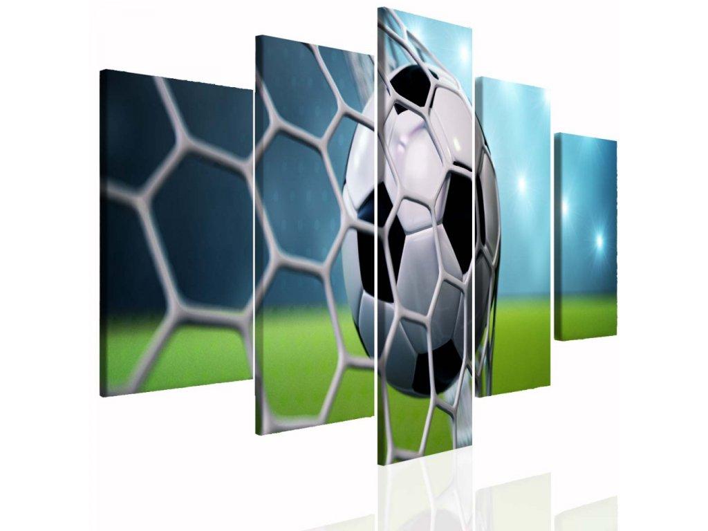 Dětský obraz fotbal (Velikost (šířka x výška) 150x70 cm)