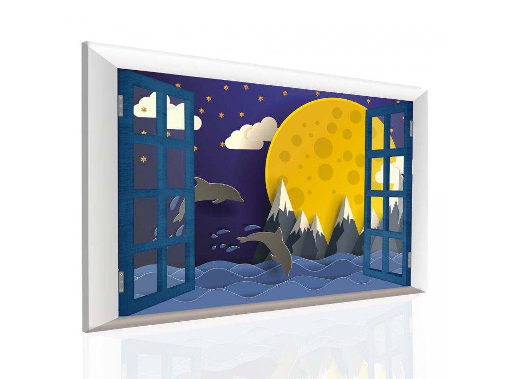 Dětský obraz sladké sny (Velikost (šířka x výška) 120x80 cm)