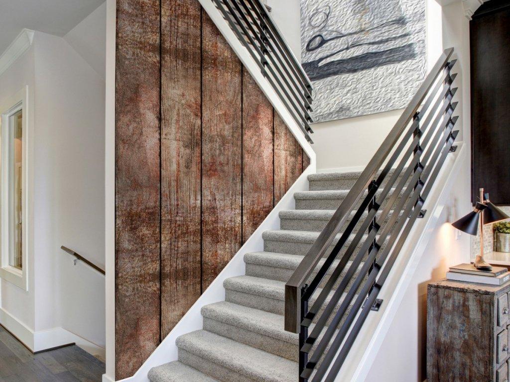 Dřevěný dotek (Klasické tapety 49x1000 cm - samolepicí)
