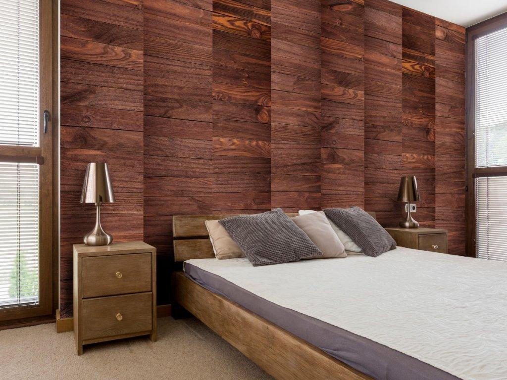 Elegantní dřevo (Klasické tapety 49x1000 cm - samolepicí)