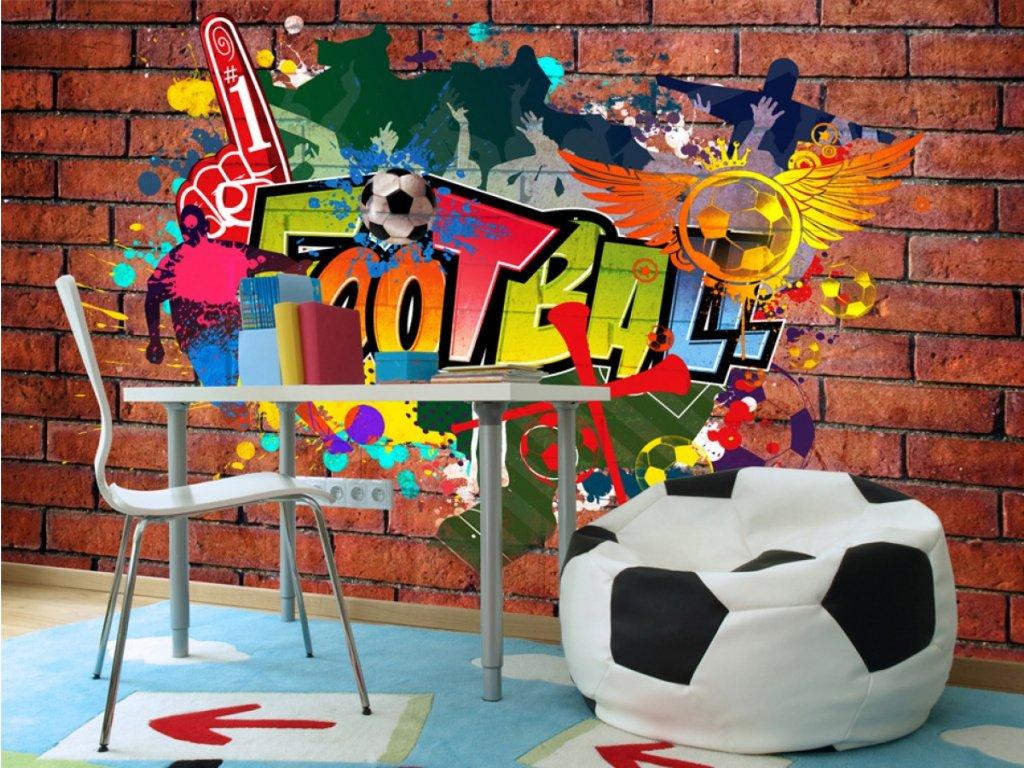 Football (Rozměry (š x v) a Typ 147x105 cm - samolepící)