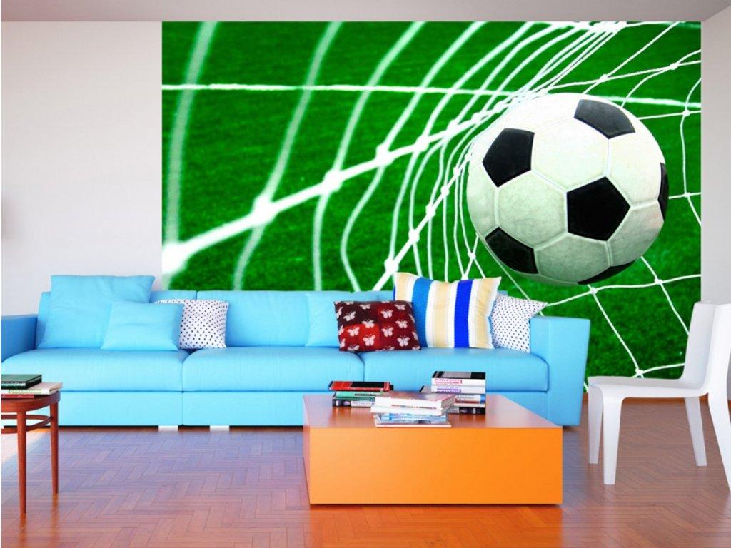 Fotbal (Rozměry (š x v) a Typ 147x105 cm - samolepící)