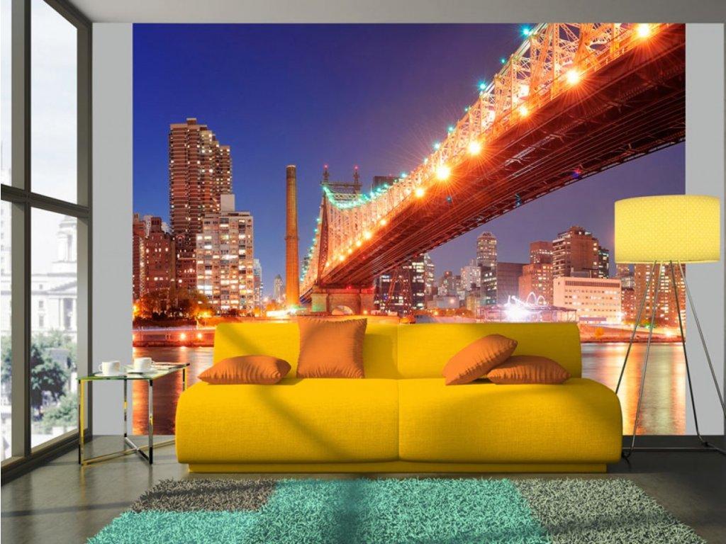 Fototapeta Brooklynský most (Rozměry (š x v) a Typ 147x116 cm - samolepící)