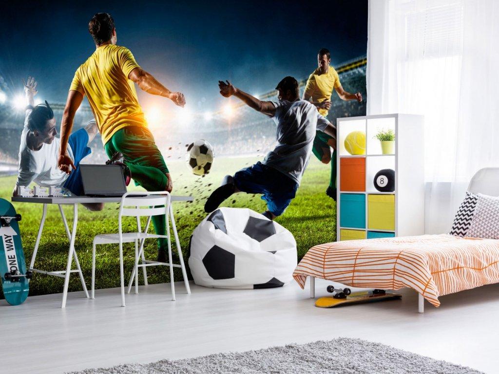 Fototapeta fotbal (Rozměry (š x v) a Typ 147x105 cm - samolepící)