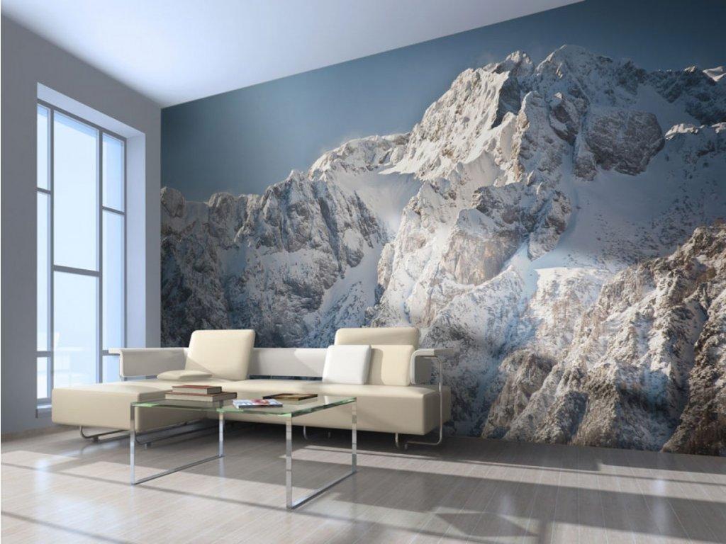 Fototapeta krásné Alpy (Rozměry (š x v) a Typ 147x116 cm - samolepící)