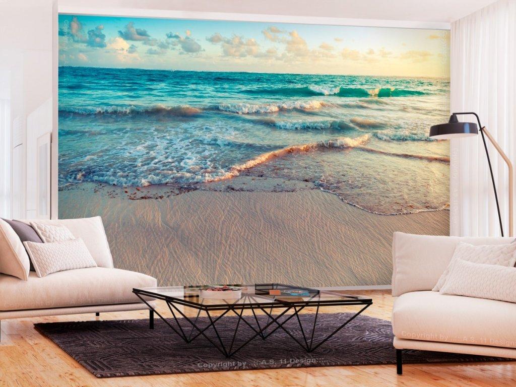 Fototapeta pláž Punta Cana (Rozměry (š x v) a Typ 147x105 cm - samolepící)