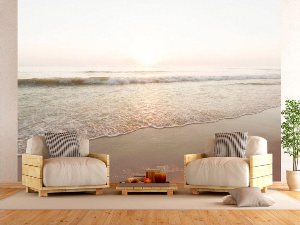 Fototapeta plážový relax (Rozměry (š x v) a Typ 147x105 cm - samolepící)