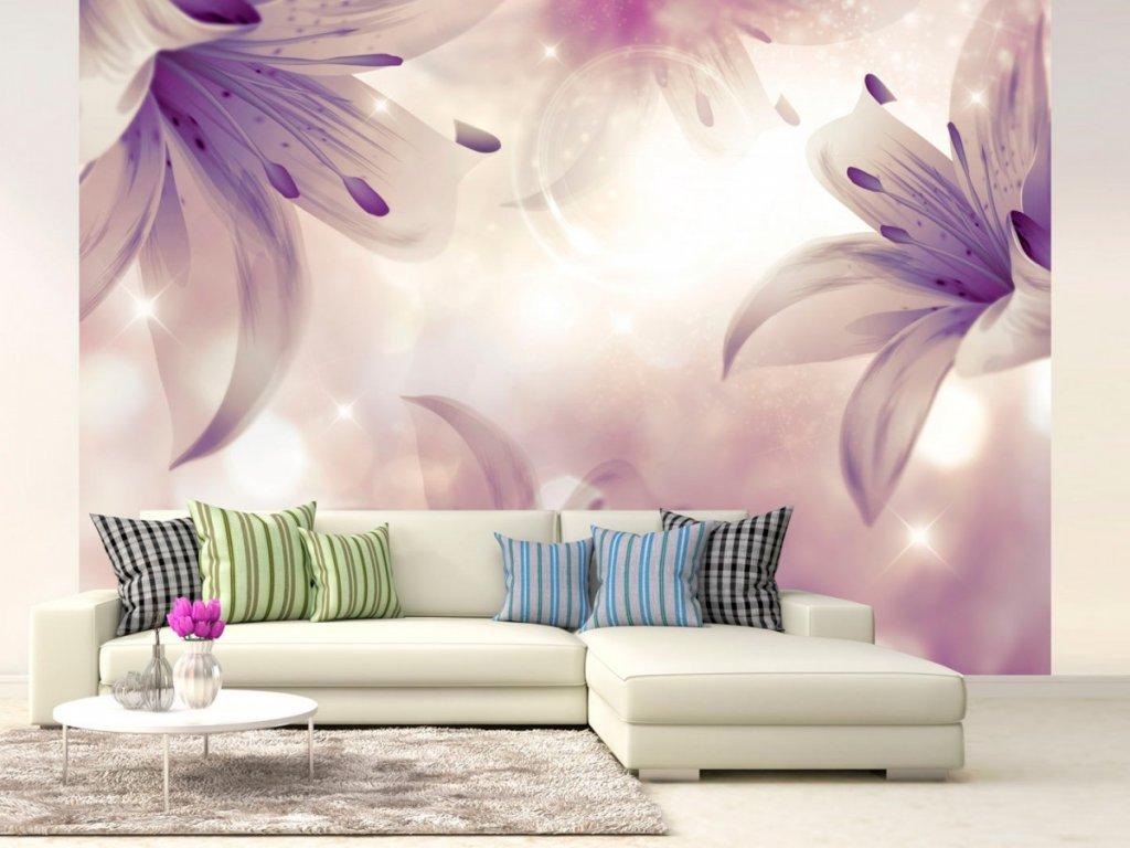 Fototapeta Tajemná lilie (Rozměry (š x v) a Typ 147x105 cm - samolepící)