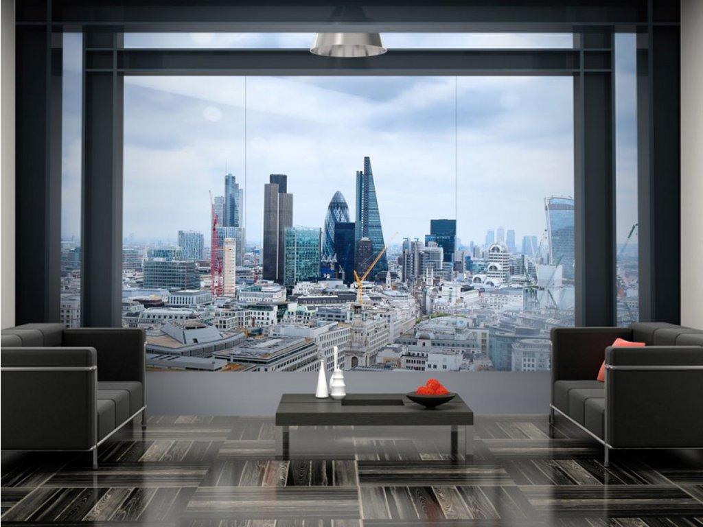 Fototapeta výhled na Londýn (Rozměry (š x v) a Typ 147x105 cm - samolepící)