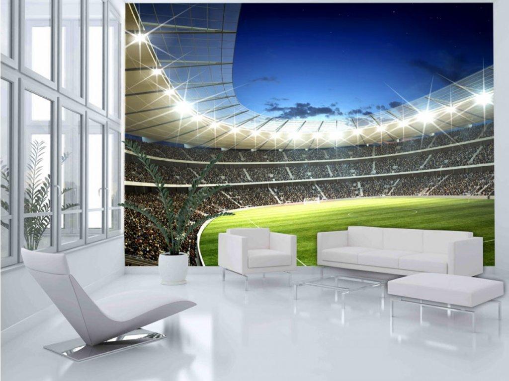Fototapeta- stadion (Rozměry (š x v) a Typ 147x116 cm - samolepící)