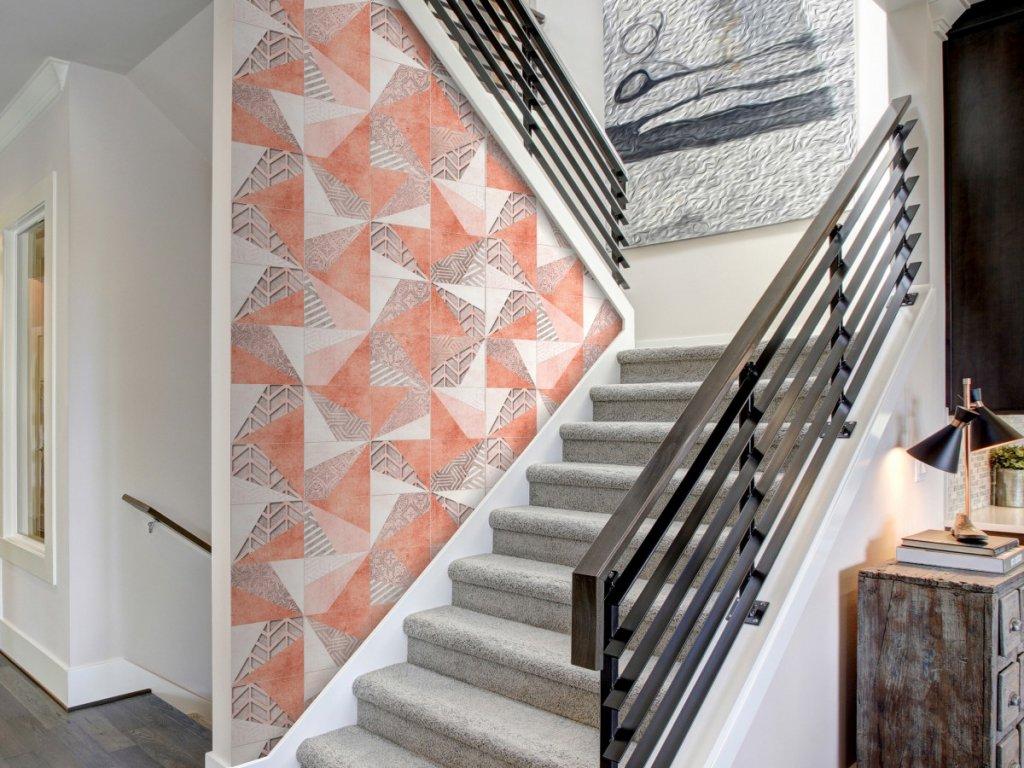 Geometrie jara (Klasické tapety 49x1000 cm - samolepicí)