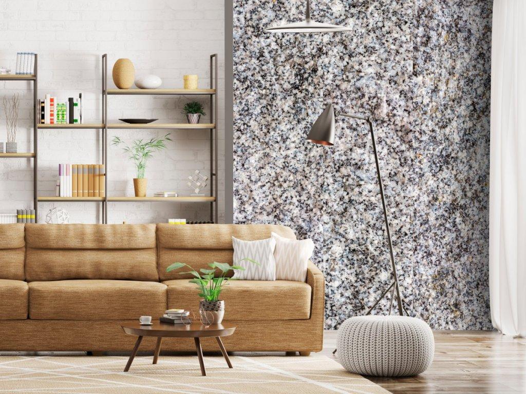 Granit (Klasické tapety 49x1000 cm - samolepicí)