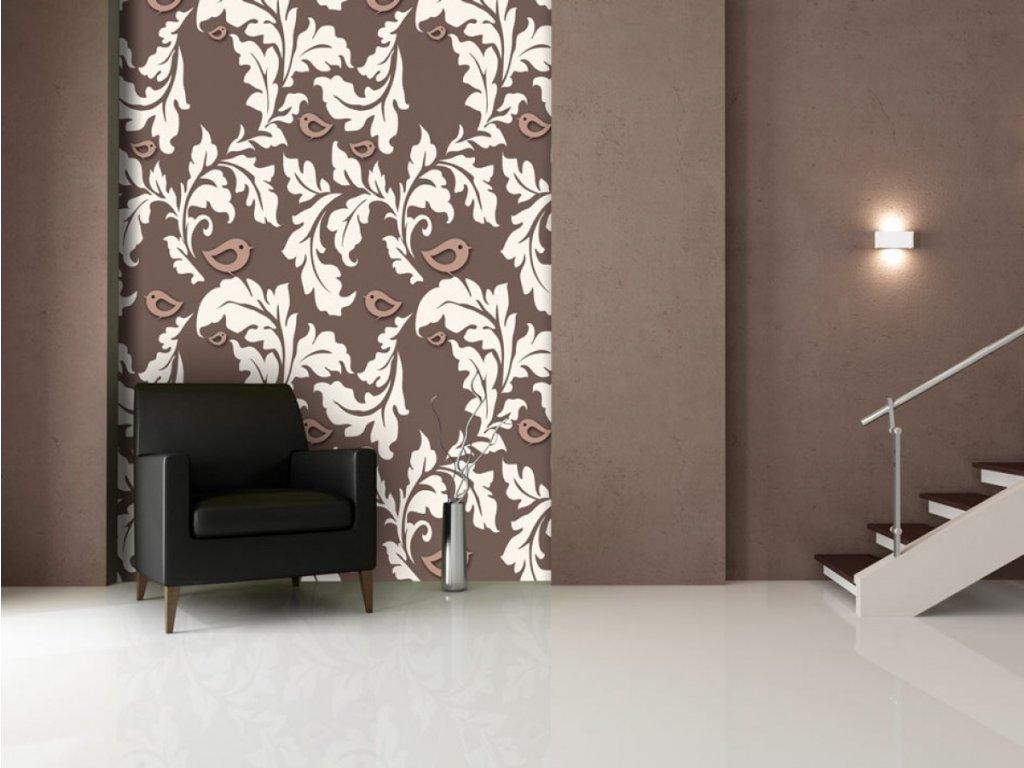 Hnědý podzim (Klasické tapety 49x1000 cm - samolepicí)