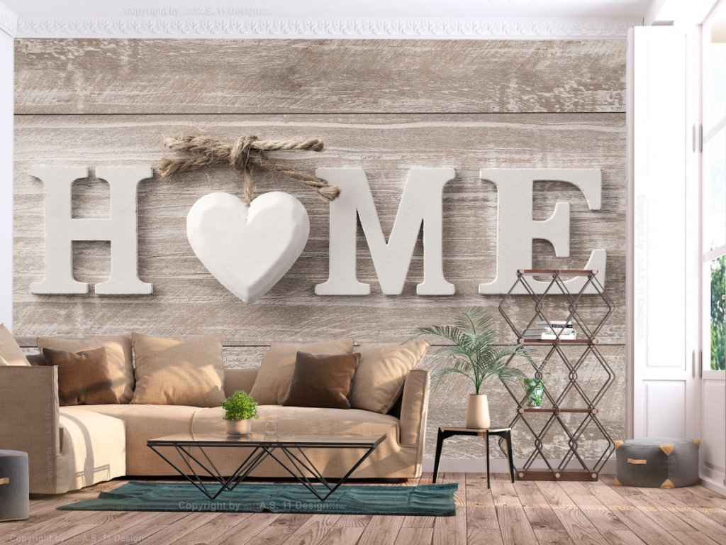 Home (Rozměry (š x v) a Typ 147x105 cm - samolepící)