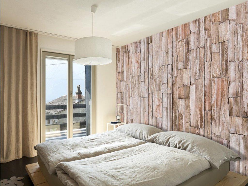 Kamenná cesta (Klasické tapety 49x1000 cm - samolepicí)