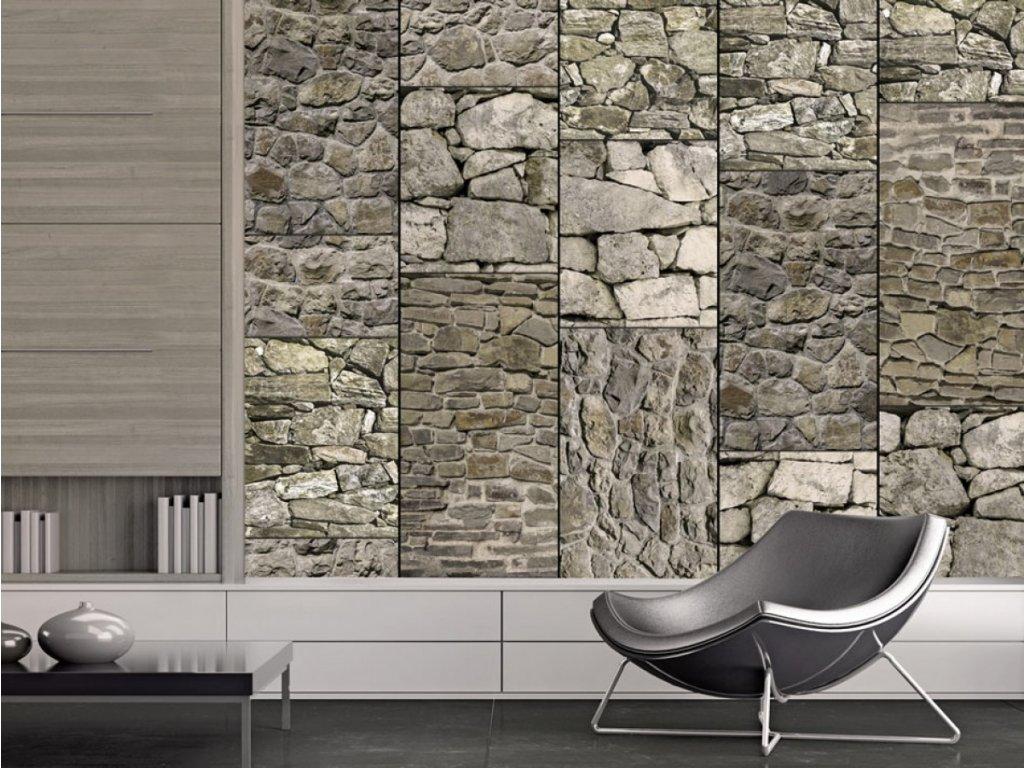 Kamenná variace (Klasické tapety 49x1000 cm - samolepicí)