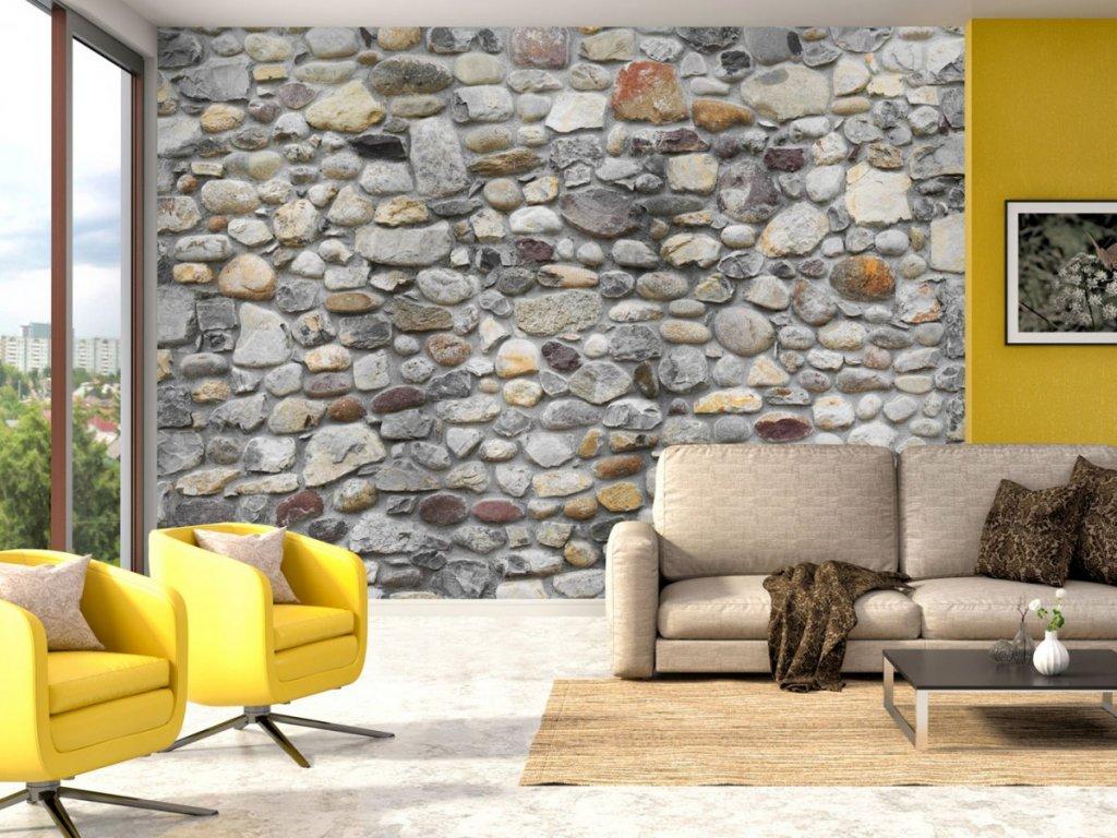 Kamenné zákoutí (Rozměry (š x v) a Typ 147x105 cm - samolepící)