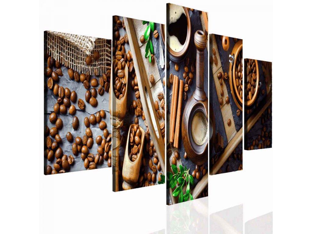 Kávové pokušení (Velikost 150x70 cm)