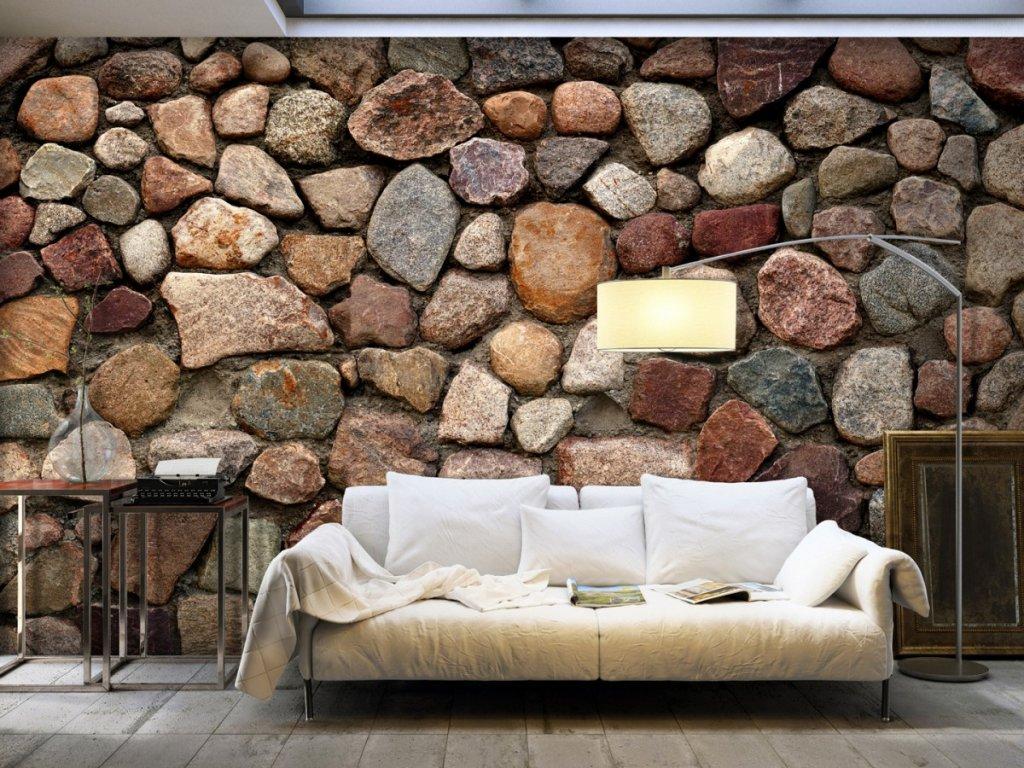 Krása kamene (Rozměry (š x v) a Typ 147x105 cm - samolepící)