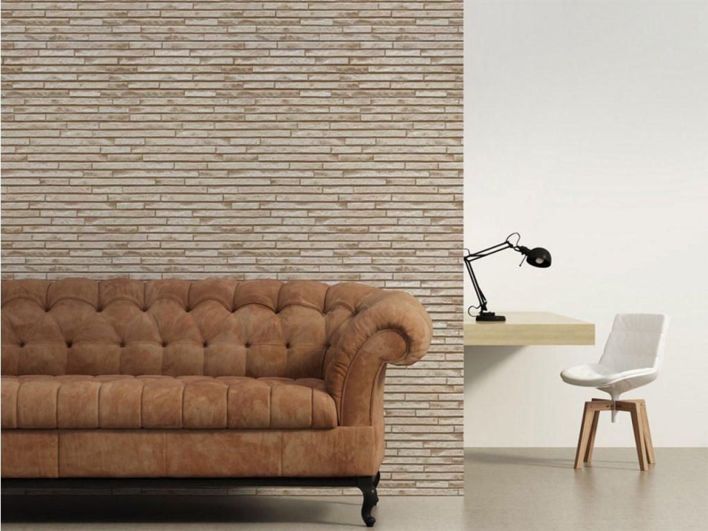Krémová stěna (Klasické tapety 49x1000 cm - samolepicí)