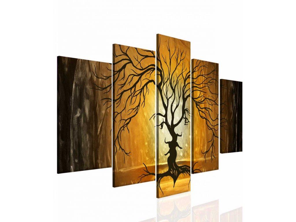 Láska stromů (Velikost 150x80 cm)