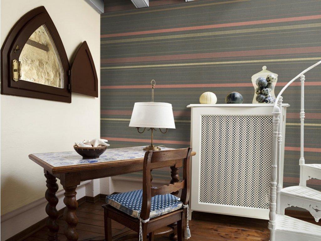 Liliový odpočinek (Klasické tapety 49x1000 cm - samolepicí)