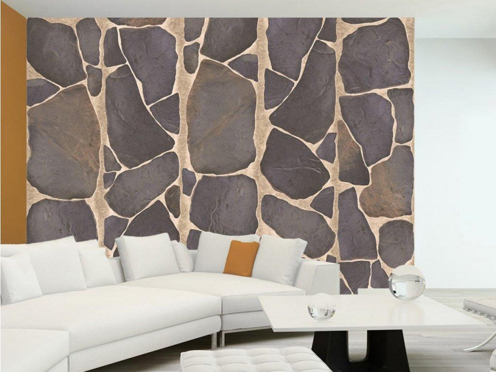 Mozaika kvádry (Klasické tapety 49x1000 cm - samolepicí)