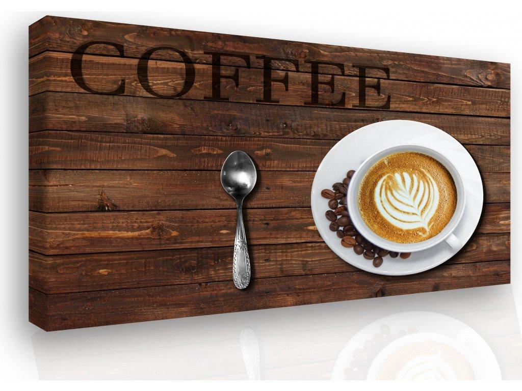 Obraz - Coffee (Velikost 120x80 cm)