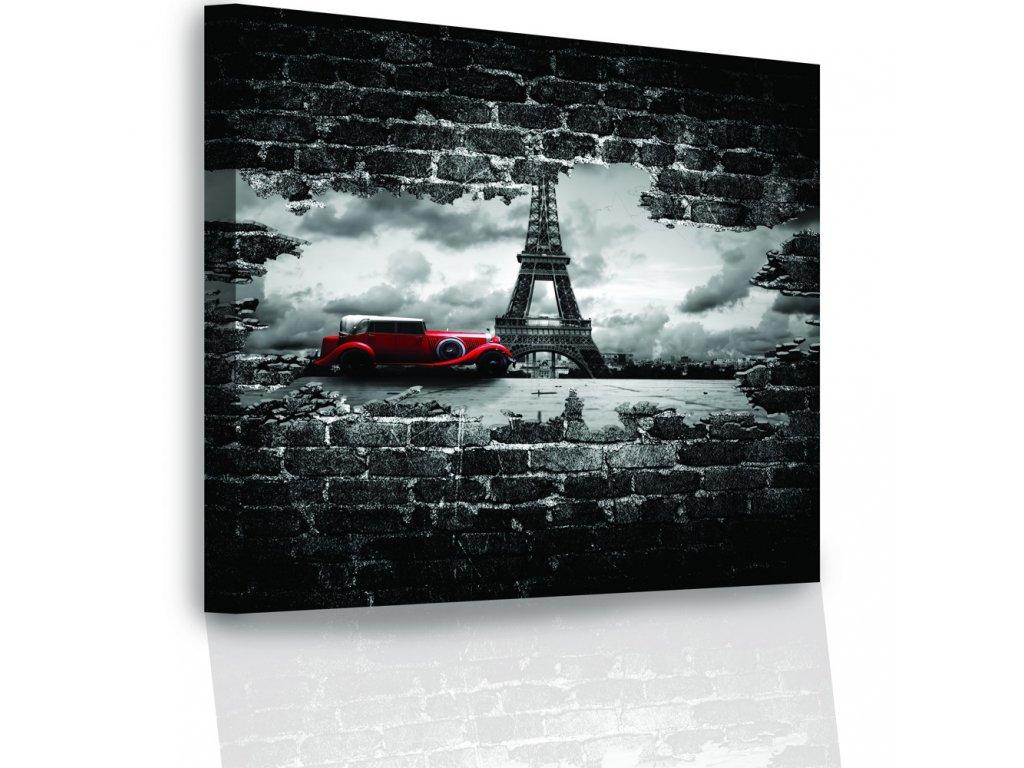 Obraz - Eiffelova věž (Velikost (šířka x výška) 120x80 cm)