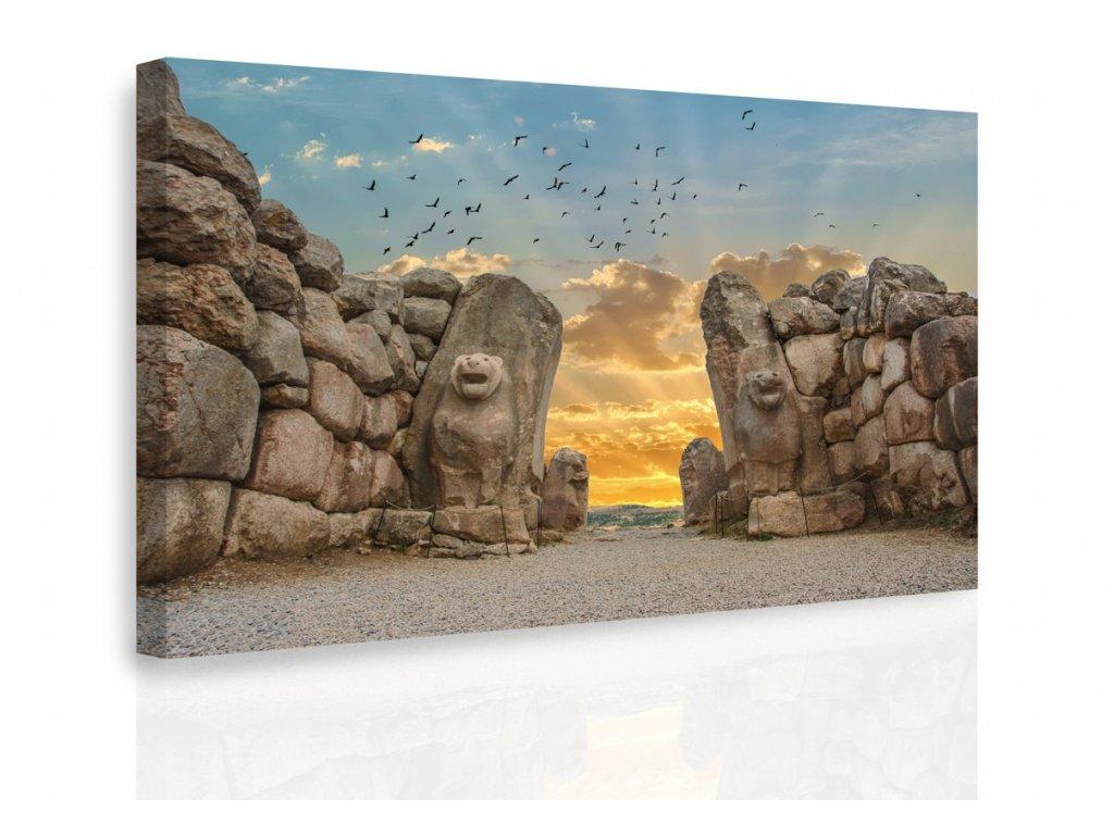 Obraz - Lion Gate (Velikost (šířka x výška) 120x80 cm)