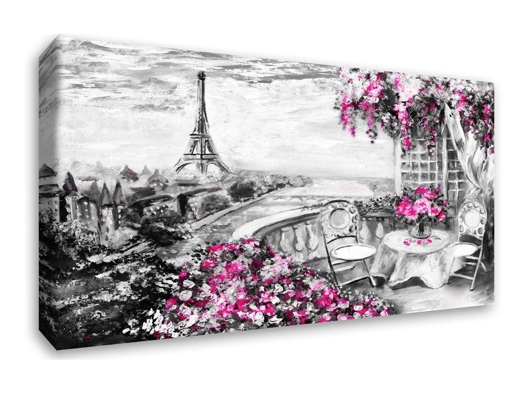 Obraz - Malovaná Paříž (Velikost (šířka x výška) 120x80 cm)
