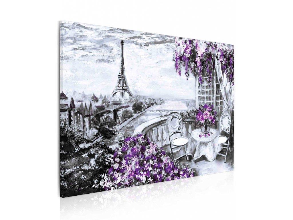 100345 obraz malovana pariz III